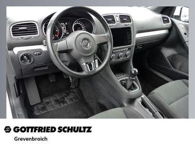 gebraucht VW Golf Cabriolet 1.6 TDI Trendline - Klima,Sitzheizun