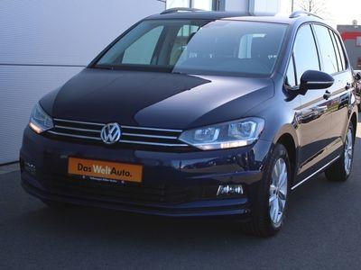 gebraucht VW Touran 1.6 TDI DSG Comfortline 7-Sitzer Navi ACC