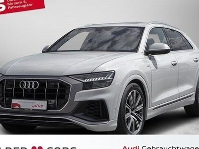 gebraucht Audi Q8 50 TDI qu. 6d-TEMP S line Matrix*Allradlenkung* Panorama Leder LM