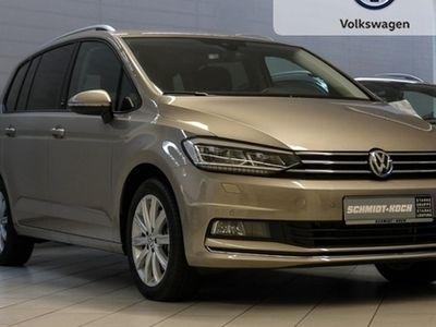 gebraucht VW Touran 2.0 TDI Sound DSG 7-Sitzer (Navi LED)