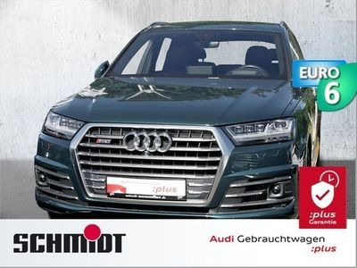 gebraucht Audi SQ7 4.0 TDI Quattro S-Tronic Navi Leder Pano HeadUp