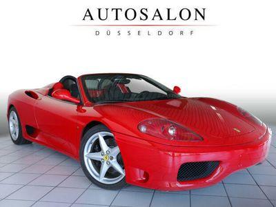 gebraucht Ferrari 360 SPIDER 6G. SCHALTER 100% DEUTSCH UNFALLFREI