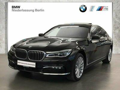 gebraucht BMW 740 d Ld xDrive Laser Komfortsitze Sky Lounge
