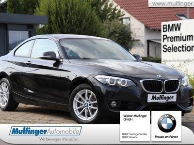 gebraucht BMW 218 i Coupe Sport Line Navi LED HiFi Tempom.Sitzh