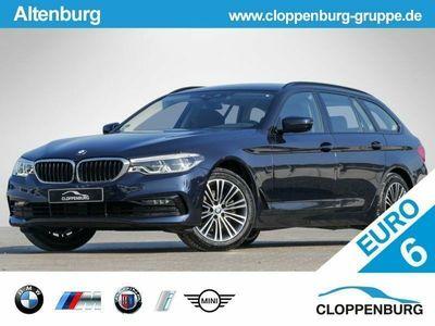 gebraucht BMW 520 d Tour Sport Line AHK LED NAVI