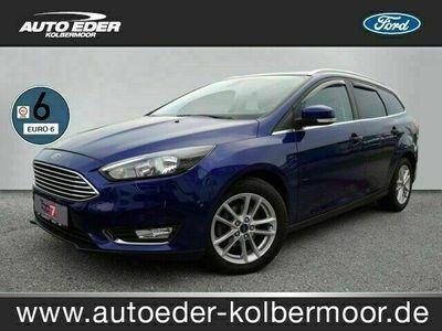 gebraucht Ford Focus 1.5 TDCi Titanium StartStopp Bluetooth Klima