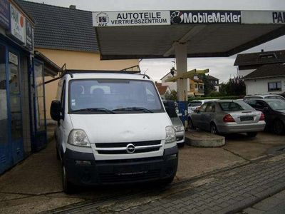 gebraucht Opel Movano 2,5 TDCI Mit AHK & Dachgepäckträger