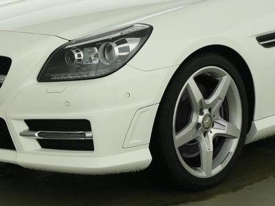 gebraucht Mercedes SLK300 Airscarf Navi Bi-Xenon AMG line Leder