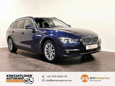 gebraucht BMW 320 320 d xdrive Touring Luxury Line Surr.view Leder