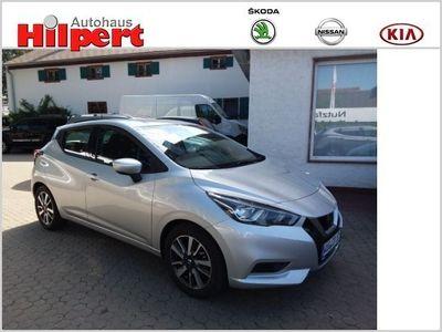 gebraucht Nissan Micra Acenta 1.0 KLIMA / WINTER / Euro6
