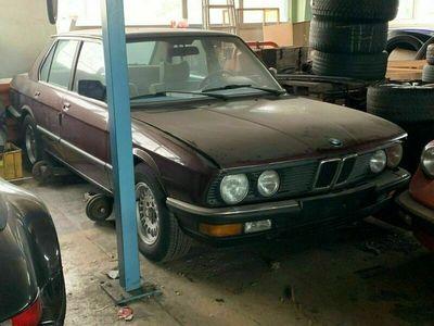 gebraucht BMW 524 E28 TD orig. 180 TKM