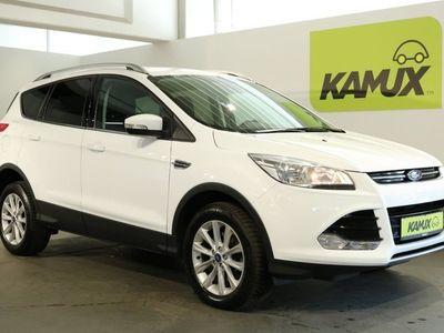 gebraucht Ford Kuga 2.0 TDCi Aut. 4x4 Titanium EU6 +Navi +Leder +Design-Paket