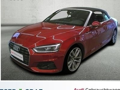 gebraucht Audi A5 Cabriolet 40 TDI 140 kW (190 PS) S tronic