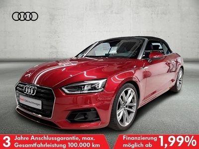 gebraucht Audi A5 Cabriolet 40 TDI S tronic Tour Stadt AHK LED Leder Sitzbelüftung VC