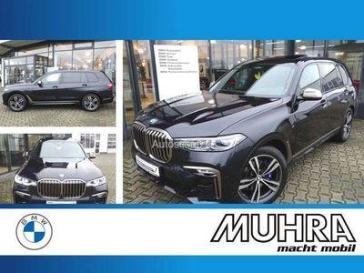 gebraucht BMW X7 M 50iA 123.500 AHK Standhzg Sitzbel Sky Lounge