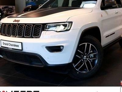 gebraucht Jeep Grand Cherokee 3.0 CRD 'Trailhawk' Leder Velour Black/Ruby Red, Vorführwagen, bei Autohaus am Prinzert GmbH