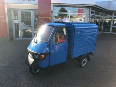 gebraucht Piaggio APE 50 Kasten in schickem Blau!
