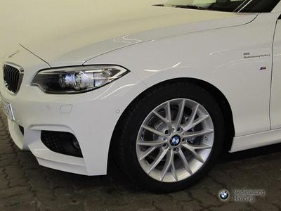 gebraucht BMW 218 d Cabrio Navi MSportpaket Verkehrsschildera.