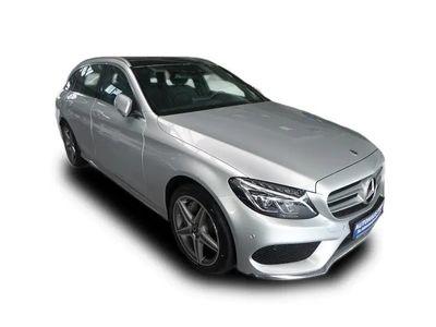 gebraucht Mercedes C400 T 4M AMG HUD-COMAND-PANO-ILS-KAMERA-