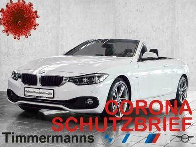 gebraucht BMW 430 i Cabrio Sport Line Aut. Navi HiFi LED Leder