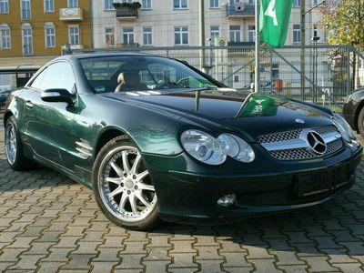 gebraucht Mercedes SL350 GASANTRIEB/ LEDER-BRAUN DESIGNO