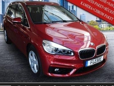 gebraucht BMW 220 i SPORT-LINE+NAVI+BUSINESS-P.+R.-KAMERA+CHROM