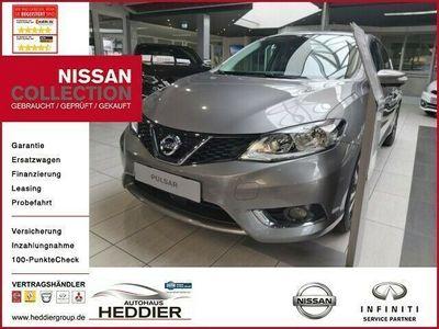 gebraucht Nissan Pulsar N-Connecta *TEILLEDER, KAMERA, NAVI, SITZ