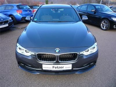 gebraucht BMW 318 d Touring Sport Line Head-Up Navi LED PDC