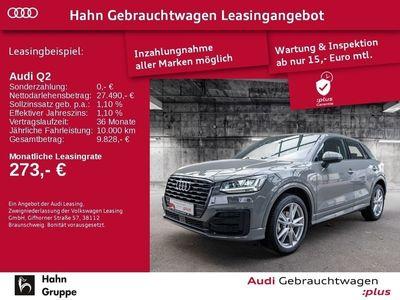 gebraucht Audi Q2 Sport 35TFSI S-line LED GRA Navi Einparkh Sitzh
