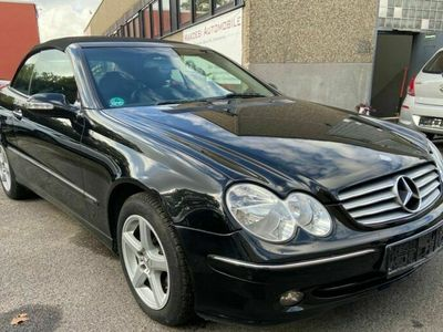 gebraucht Mercedes CLK200 KOMPRESSOR Cabrio Automatik/Leder/ALU