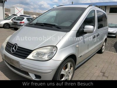 gebraucht Mercedes Vaneo Compact Van 1.7 CDI 7 SITZER
