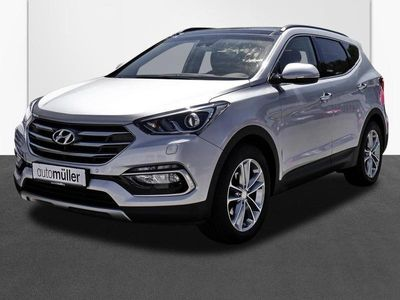 gebraucht Hyundai Santa Fe 2.2 CRDi DPF Premium blue 4WD