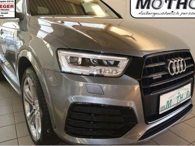 gebraucht Audi Q3 Sport quattro MMIPlus Navi Teilleder Pano Kamer