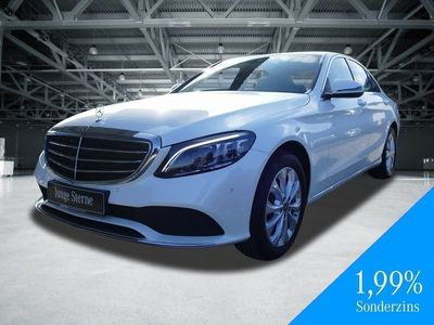 gebraucht Mercedes C220 d 4MATIC Exclusive+LED+SHZ+Navi+Kamera+PDC