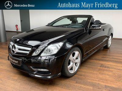 gebraucht Mercedes E250 Cabrio CGI BE AMG NAVI+AIRSCARF+ILS+EDW AMG Line