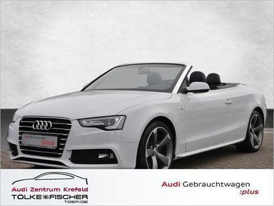 gebraucht Audi A5 Cabriolet 2.0 TDI S line Navi Xenon Klima