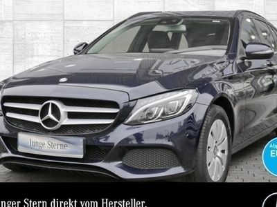 gebraucht Mercedes C220 T d Stdhzg COMAND ILS LED PTS Easy-Pack Temp
