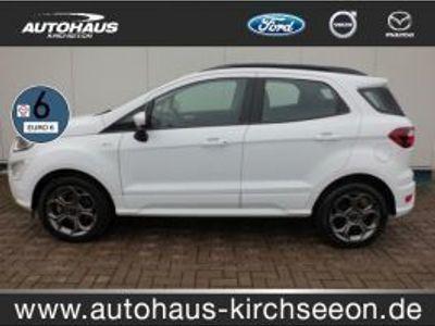 gebraucht Ford Ecosport 1.0 EcoBoost ST-Line StartStopp Xenon
