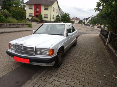 used Mercedes 190 2.0 Scheckheftgepflegt Rentner besitz