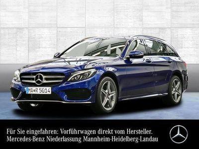 gebraucht Mercedes C220 T d AMG COMAND ILS LED PTS Sitzh Sitzkomfort