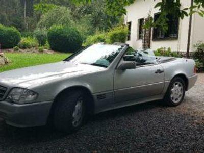 gebraucht Mercedes SL500 // Silber mit schwarzem Leder