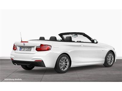 gebraucht BMW 220 d Cabrio M Sportpaket Navi Speed Limit Info