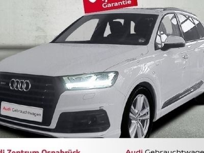 gebraucht Audi SQ7 TDI quattro tiptronic 7-Sitzer AHK ACC Optikpa