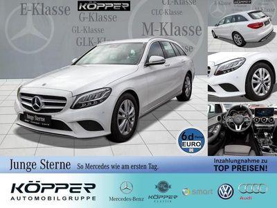 gebraucht Mercedes C180 T-Modell White Edition KeylessGo/Klima/LED