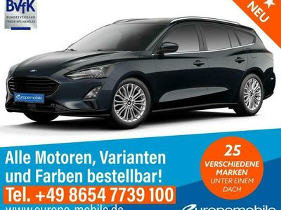 gebraucht Ford Focus Turnier COOL & CONNECT (D6 Basic) 1.0 EcoBoost 125 M6