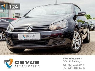 gebraucht VW Golf Cabriolet VI 1.6 TDI Klima Einparkhilfe LM