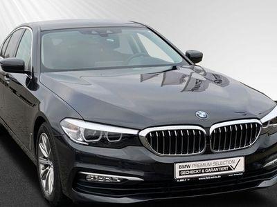 gebraucht BMW 520 d Navi Prof. Aut. EDC TV Standhzg. Klimaaut.
