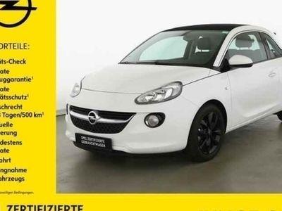 gebraucht Opel Adam 1.2 Open Air Klima Bluetooth Faltdach GRA