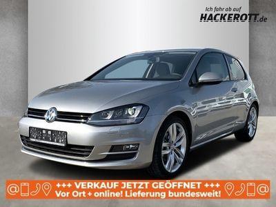 gebraucht VW Golf VII Highline BMT 1.4 TSI Navi Dyn. Kurvenlicht PDCv+h LED-Tagfahrlicht Tel.-Vorb.