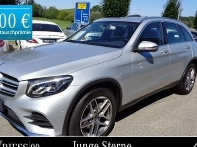 gebraucht Mercedes GLC300 4M AMG+Distronic*LED*Navi*Kamera